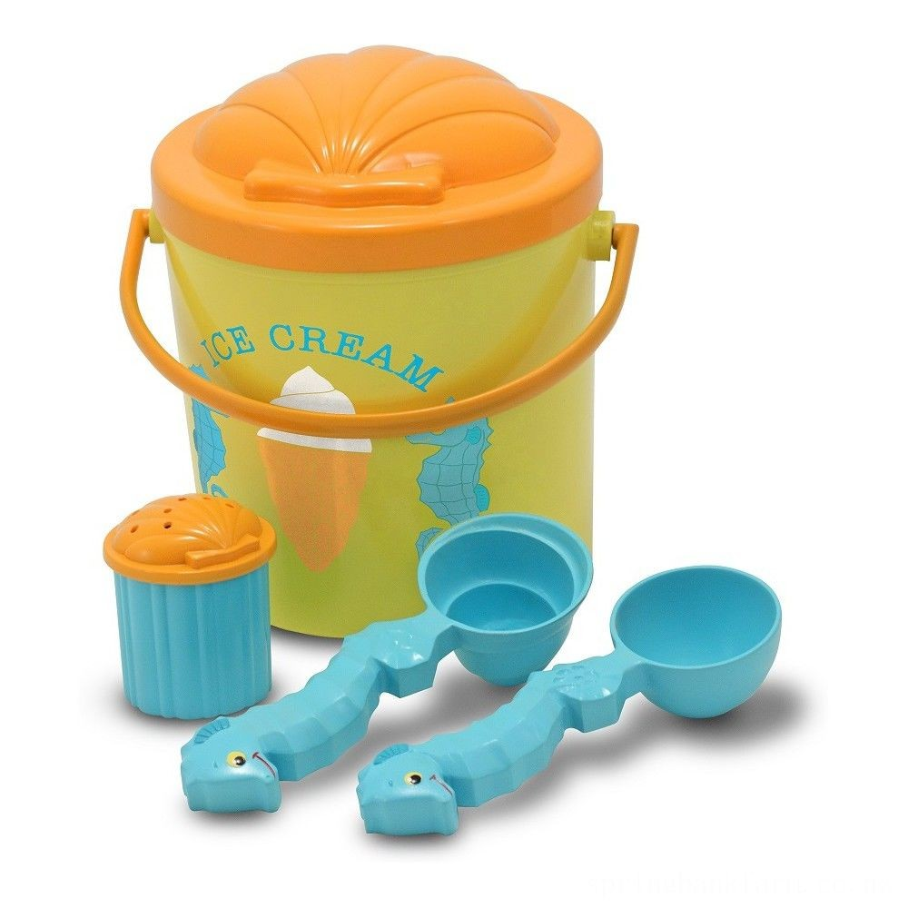 Melissa & Doug Sunny Patch Speck Seahorse Sand Ice Cream Play Set Deal