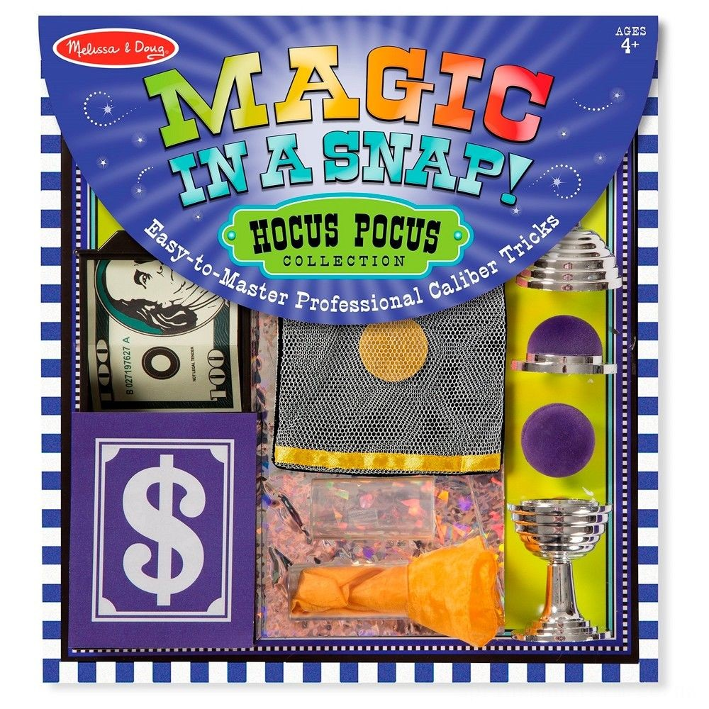 Melissa & Doug Magic in a Snap Hocus-Pocus Collection Deal