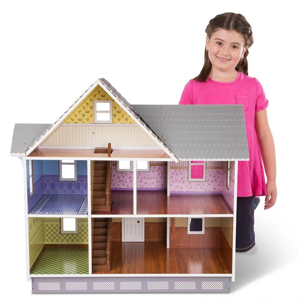 Melissa & Doug Victorian Dollhouse Deal