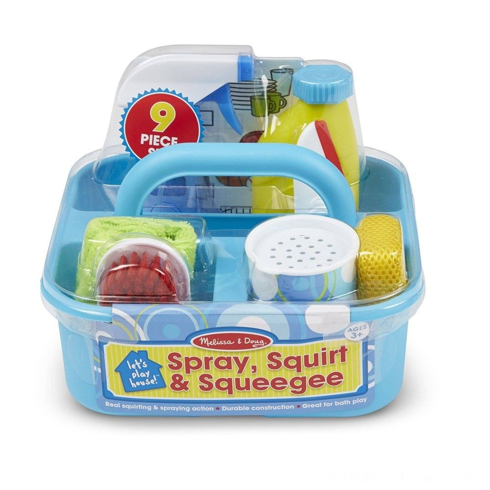 Melissa & Doug Spray, Squirt & Squeegee Set Deal