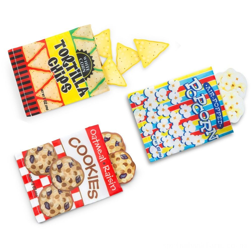 Melissa & Doug Store & Serve Snack Food Set Deal