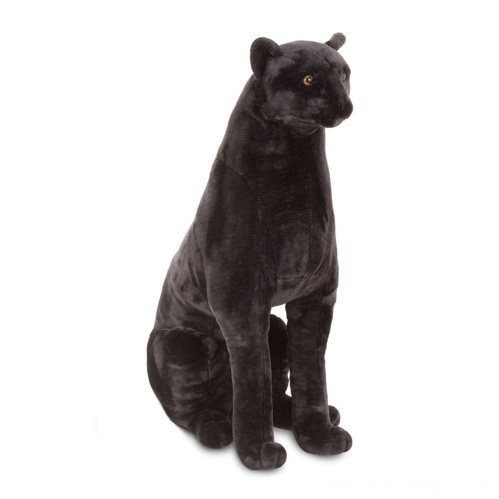 Melissa & Doug Giant Panther - Lifelike Stuffed Animal (nearly 3 feet tall) Deal