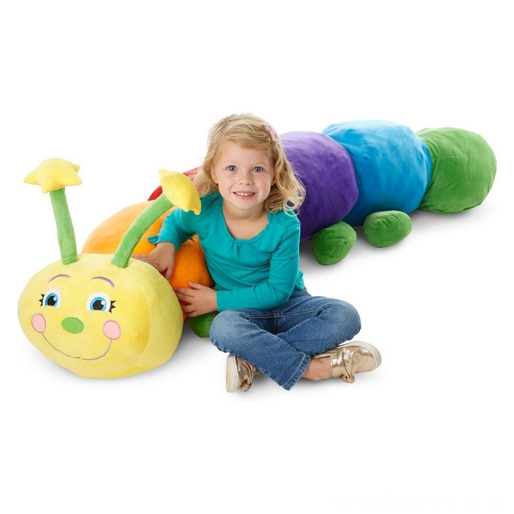 Melissa & Doug Jumbo Rainbow Caterpillar Deal